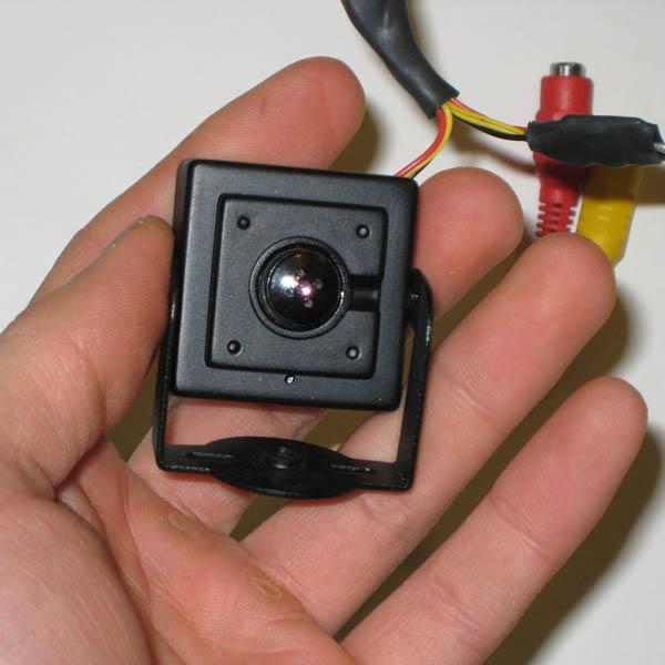 Mini camara con lente pinhole excelente imagen y audio - Camaras de vigilancia con grabacion ...